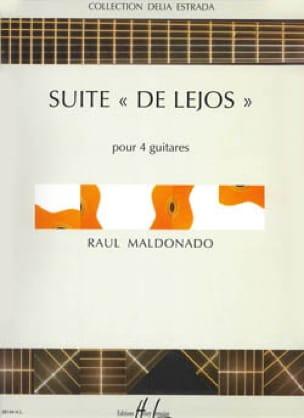 Suite de Lejos - Raul Maldonado - Partition - laflutedepan.com