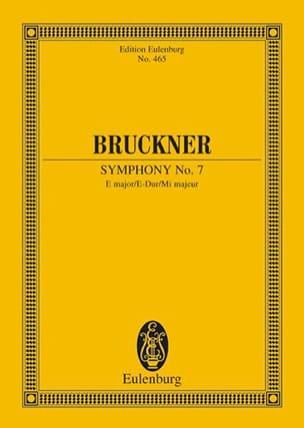 Sinfonie Nr. 7 E-Dur BRUCKNER Partition Petit format - laflutedepan