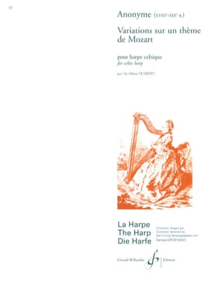 Variations sur un Thème de Mozart Partition Harpe - laflutedepan