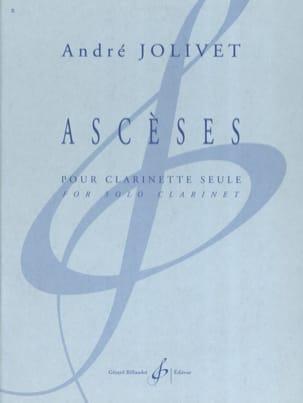 Ascèses André Jolivet Partition Clarinette - laflutedepan