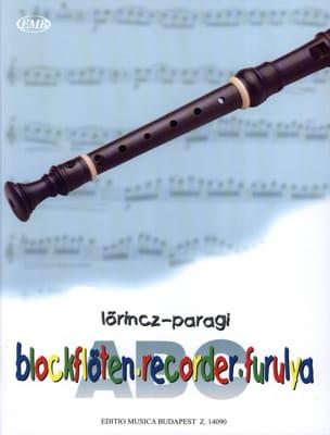 ABC de la Flûte à Bec Soprano - Méthode Lörincz / Paragi laflutedepan