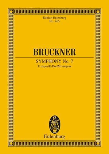 Sinfonie Nr. 7 E-Dur - BRUCKNER - Partition - laflutedepan.com