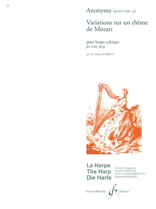 Variations sur un Thème de Mozart - Partition - laflutedepan.com