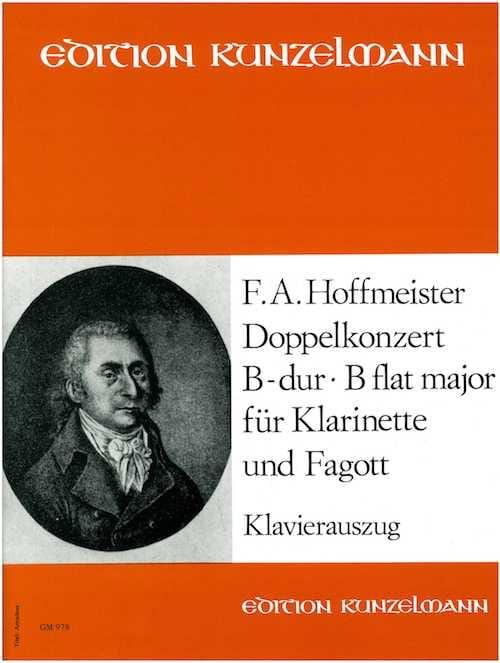 Doppelkonzert B-Dur -Klarinette Fagott Klavier - laflutedepan.com