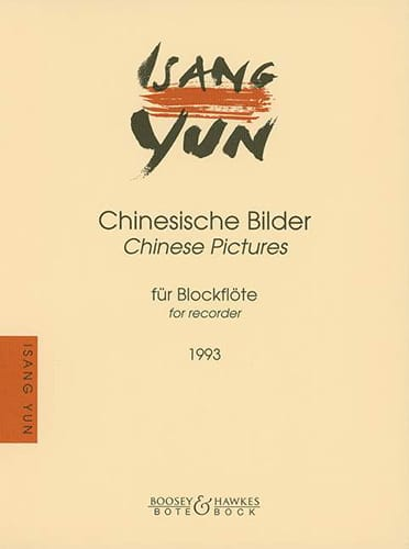 Chinesische Bilder -Blockflöte - Isang Yun - laflutedepan.com