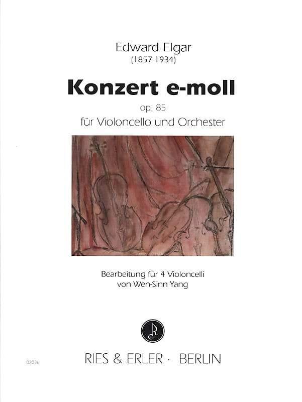 Concerto en Mi Mineur Opus 85 - ELGAR - Partition - laflutedepan.com