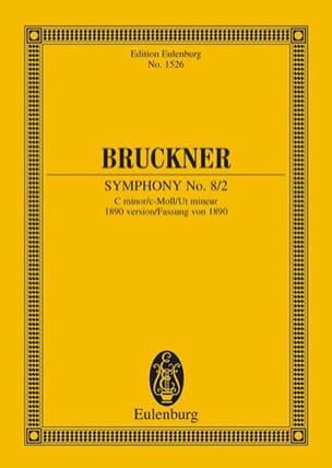 Symphonie N° 8 2 - C-Moll BRUCKNER Partition laflutedepan