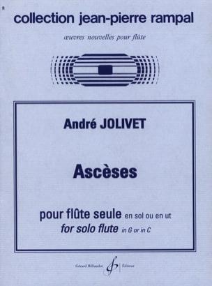 Ascèses André Jolivet Partition Flûte traversière - laflutedepan