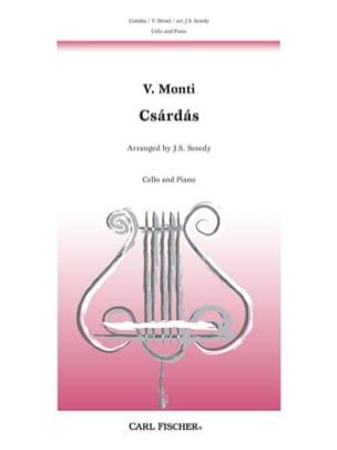 Czardas - Cello Vittorio Monti Partition Violoncelle - laflutedepan