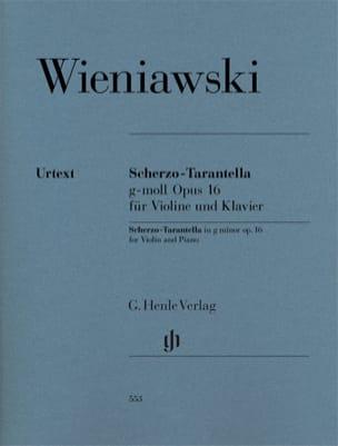 Scherzo -Tarantella en sol mineur op. 16 WIENAWSKI laflutedepan