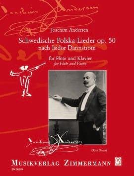 Schwedische Polska-Lieder, op. 50 - ANDERSEN - laflutedepan.com