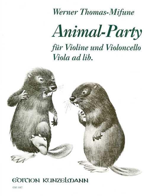 Animal-Party - Werner Thomas-Mifune - Partition - laflutedepan.com