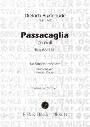 Passacaglia d-moll -Streichorchester - Partitur + Stimmen - laflutedepan.com