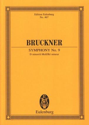 Sinfonie Nr. 9 d-Moll BRUCKNER Partition Petit format - laflutedepan
