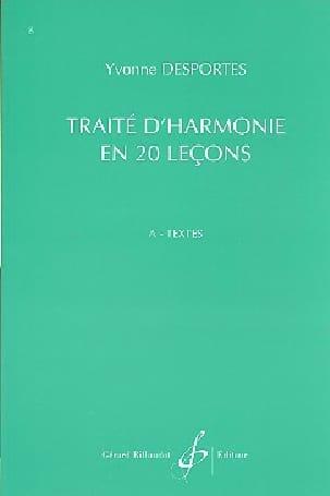 Traité d'Harmonie en 20 lecons - A. Textes laflutedepan