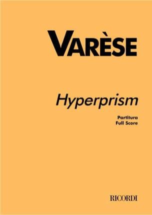 Hyperprism - Partitur - Edgard Varèse - Partition - laflutedepan.com