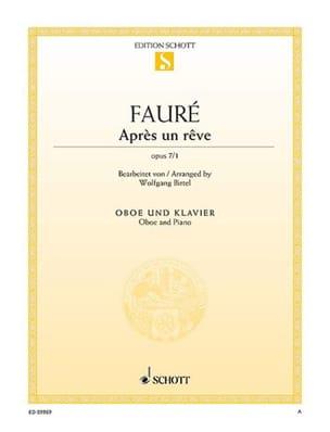 Après un rêve, opus 7 n° 1 - Hautbois et piano FAURÉ laflutedepan