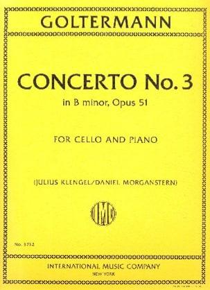 Concerto n° 3, op. 51 - Violoncelle et piano - laflutedepan.com
