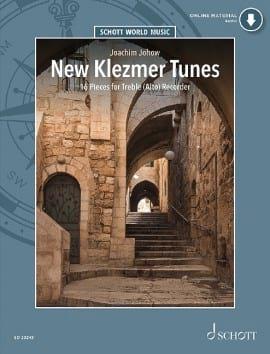 New Klezmer Tunes Partition Flûte à bec - laflutedepan
