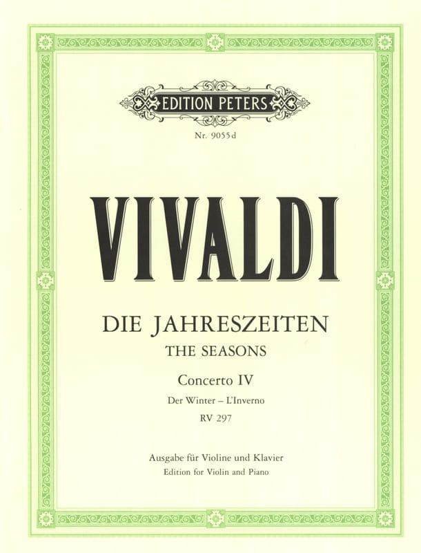 Concerto L'inverno op. 8 n° 4 RV 297 - VIVALDI - laflutedepan.com