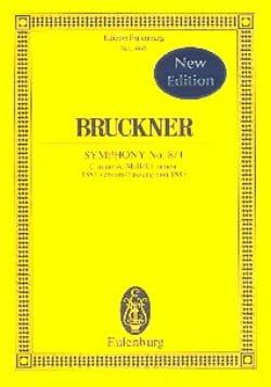 Sinfonie N° 8 In C-Moll 1ère Version - Conducteur laflutedepan