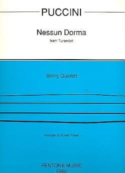 Nessuna Dorma from Turandot - String Quartet PUCCINI laflutedepan