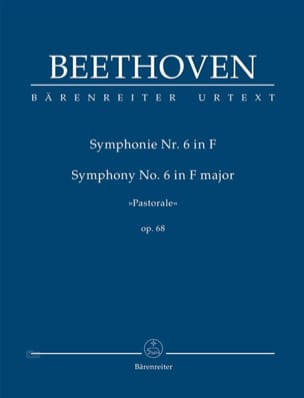 Symphonie N°6 Op. 68 - Conducteur BEETHOVEN Partition laflutedepan