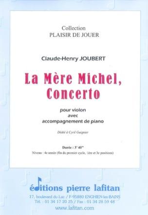 La Mere Michel, Concerto - Joubert Claude-Henry - laflutedepan.com