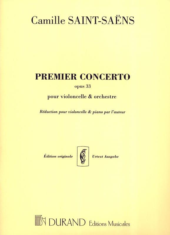 Concerto Violoncelle N° 1 opus 33 - SAINT-SAËNS - laflutedepan.com