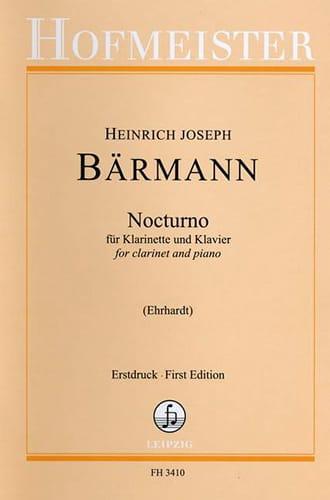 Nocturno - Heinrich Joseph Baermann - Partition - laflutedepan.com