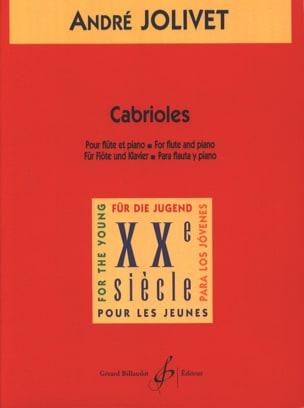 Cabrioles André Jolivet Partition Flûte traversière - laflutedepan