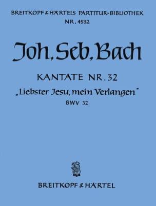 Kantate 32 Liebster Jesu - BACH - Partition - laflutedepan.com