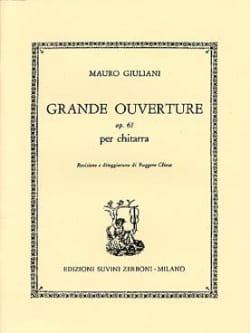 Grande ouverture op. 61 Mauro Giuliani Partition laflutedepan