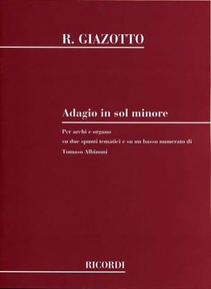 Adagio in sol minore - Conducteur - laflutedepan.com