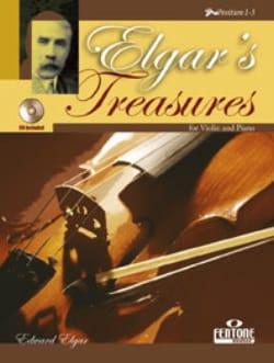 Elgar's Treasures ELGAR Partition Violon - laflutedepan