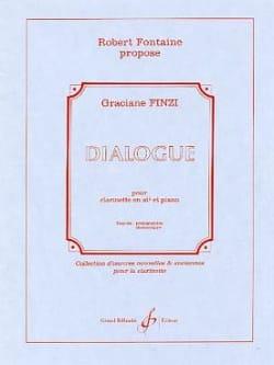 Dialogue Graciane Finzi Partition Clarinette - laflutedepan