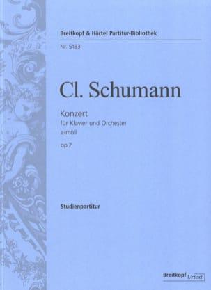 Klavierkonzert A-Moll - Conducteur Clara Schumann laflutedepan