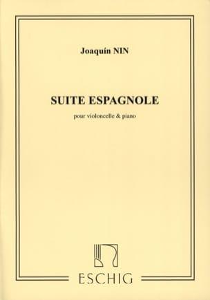 Suite Espagnole - Violoncelle Joaquin Nin Partition laflutedepan