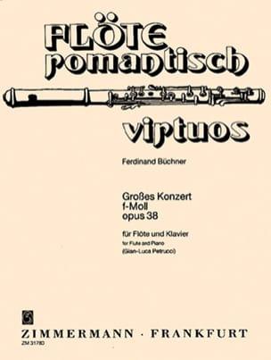 Grosses Konzert f-moll, op. 38 -Flöte Klavier laflutedepan