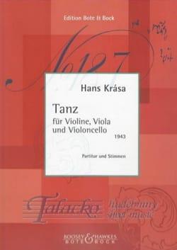 Hans Krása - Tanz - Partitur Stimmen - Partition - di-arezzo.co.uk