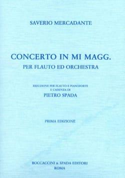 Concerto in mi maggiore - Flauto piano Saverio Mercadante laflutedepan