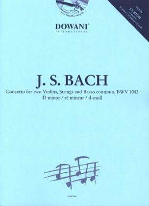 Concerto 2 Violons en ré mineur, BWV 1043 BACH Partition laflutedepan