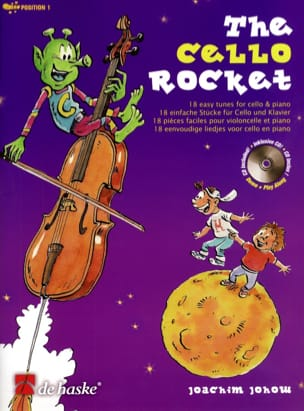 The Cello Rocket Joachim Johow Partition Violoncelle - laflutedepan