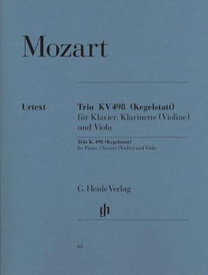 Trio Kv 498 Kegelstatt MOZART Partition Trios - laflutedepan