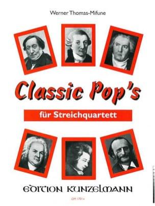 Classic Pop's - String Quartet Werner Thomas-Mifune laflutedepan