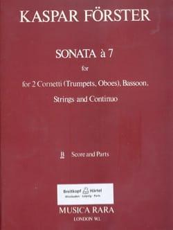 Sonata A 7 - 2 Trompettes Ou Hautbois-Basson-Cordes et B. C. laflutedepan