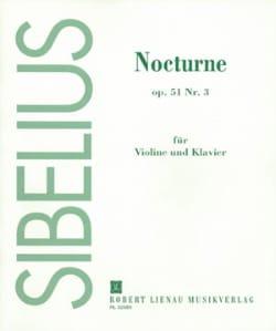 Nocturne op. 51 n° 3 SIBELIUS Partition Violon - laflutedepan