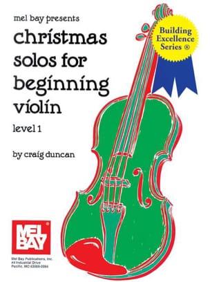 Christmas Solos for Beginning Violon - Level 1 laflutedepan