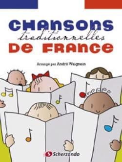 Chansons traditionnelles de France André Waignein laflutedepan
