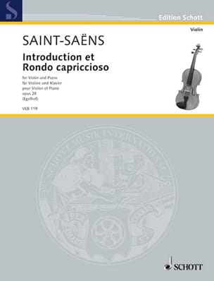 Introduction et Rondo Capriccioso Op.28 SAINT-SAËNS laflutedepan